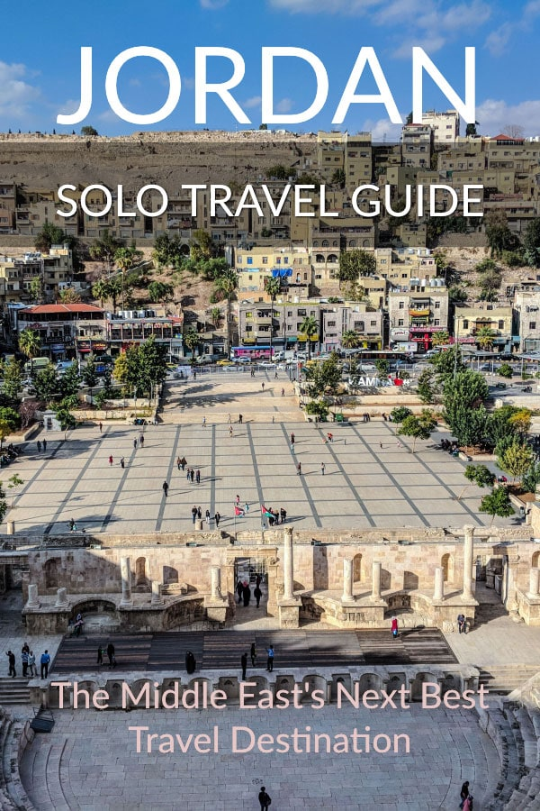 Amman amphitheatre - Jordan Solo Travel Guide