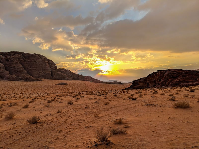 "Visiting Wadi Rum – Jordan's Desert ""Valley Of The Moon"""