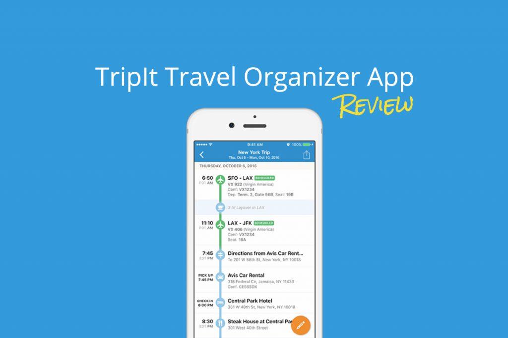 Tripit Pro App Review
