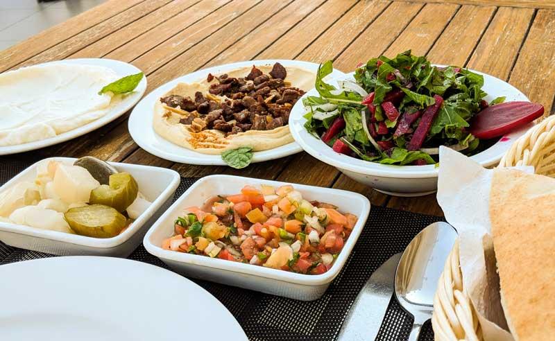 Typical traditional Jordanian Food