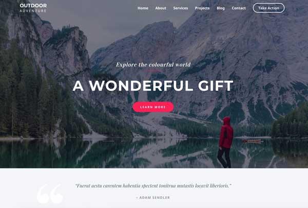 Astra WordPress Travel Blog Theme