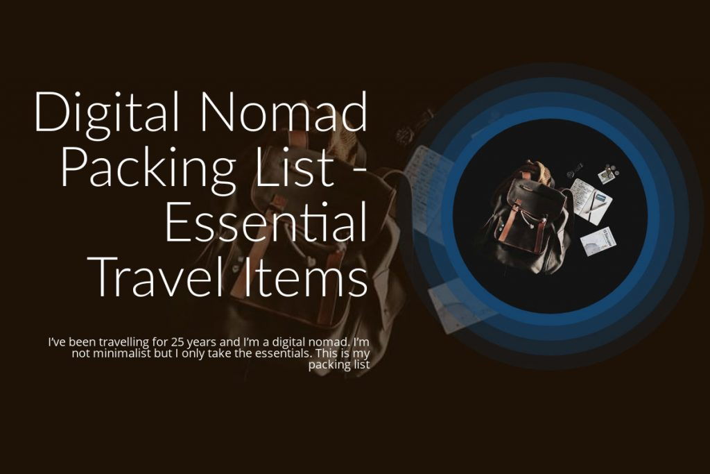 Digital Nomad Packing Lists