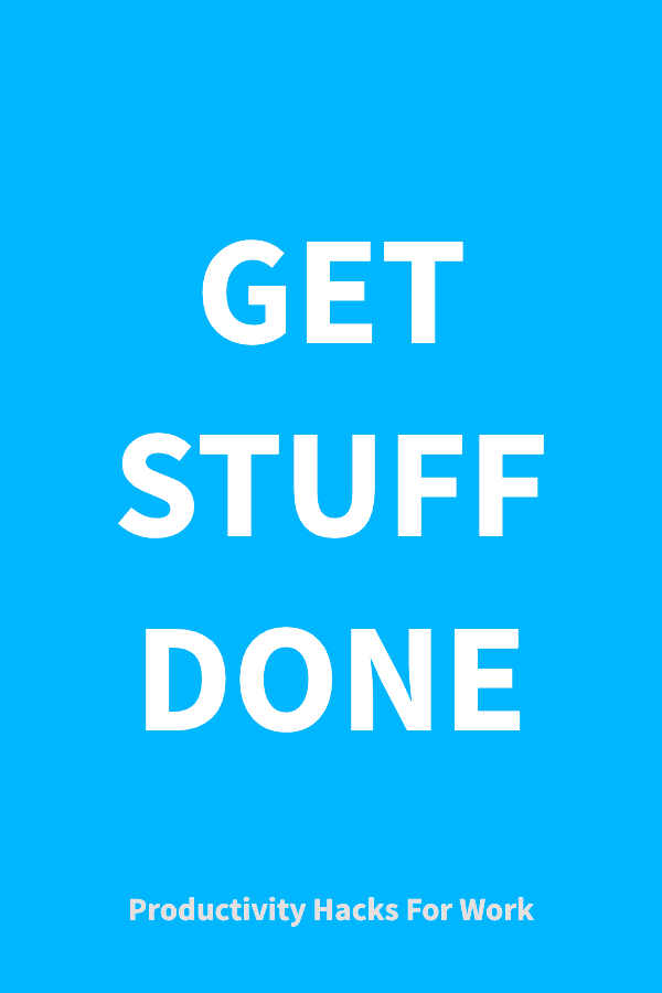 Get stuff done: Productivity apps
