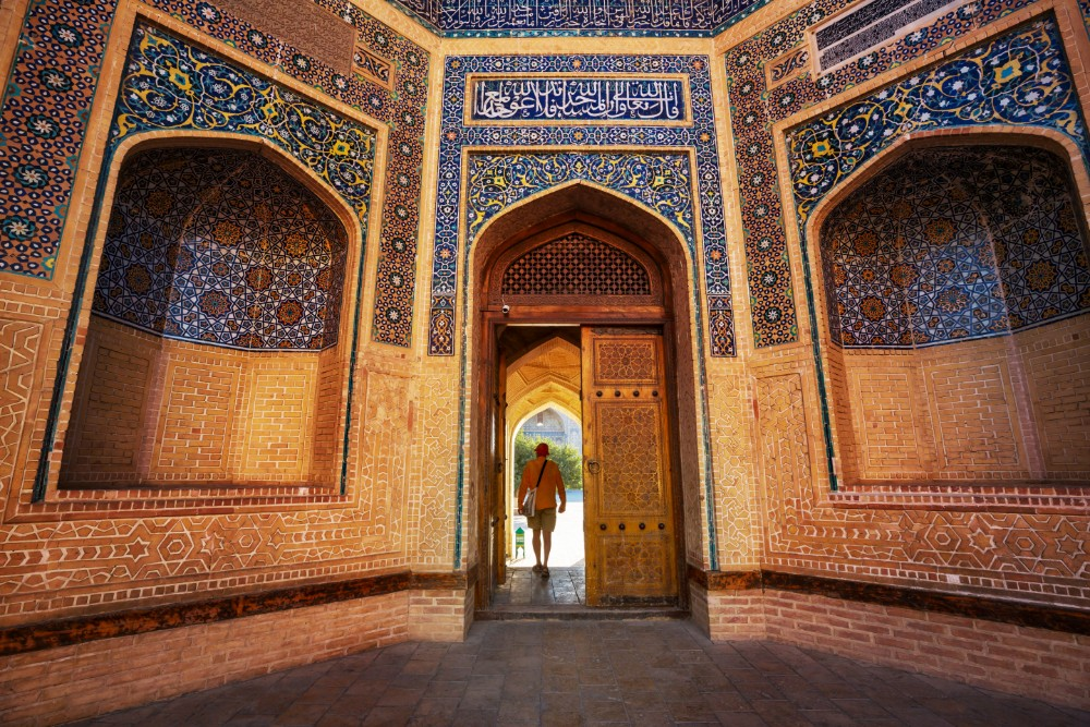 uzbekistan on the silk roads