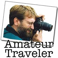 amateur traveler podcast logo