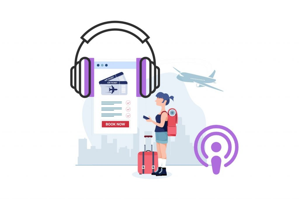 Travel podcasts to listen to on journeys