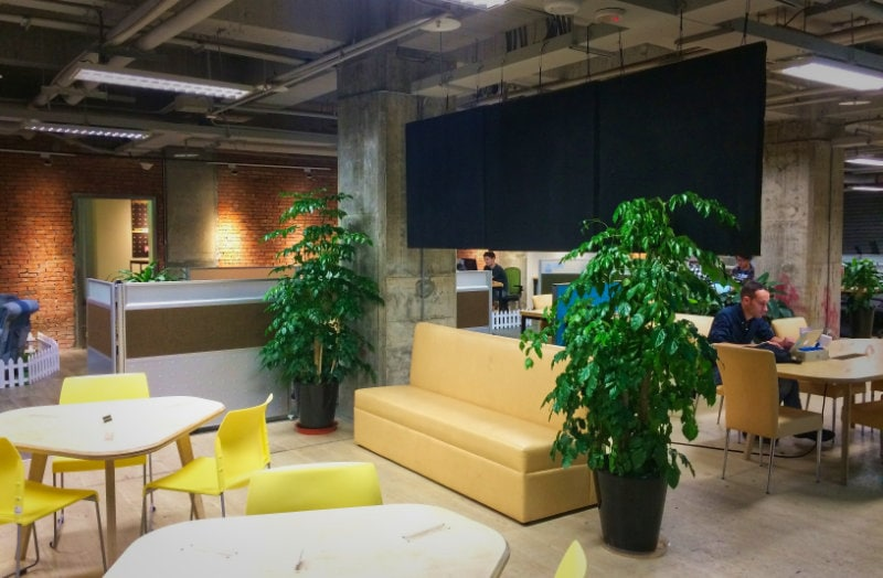 Futureward coworking space