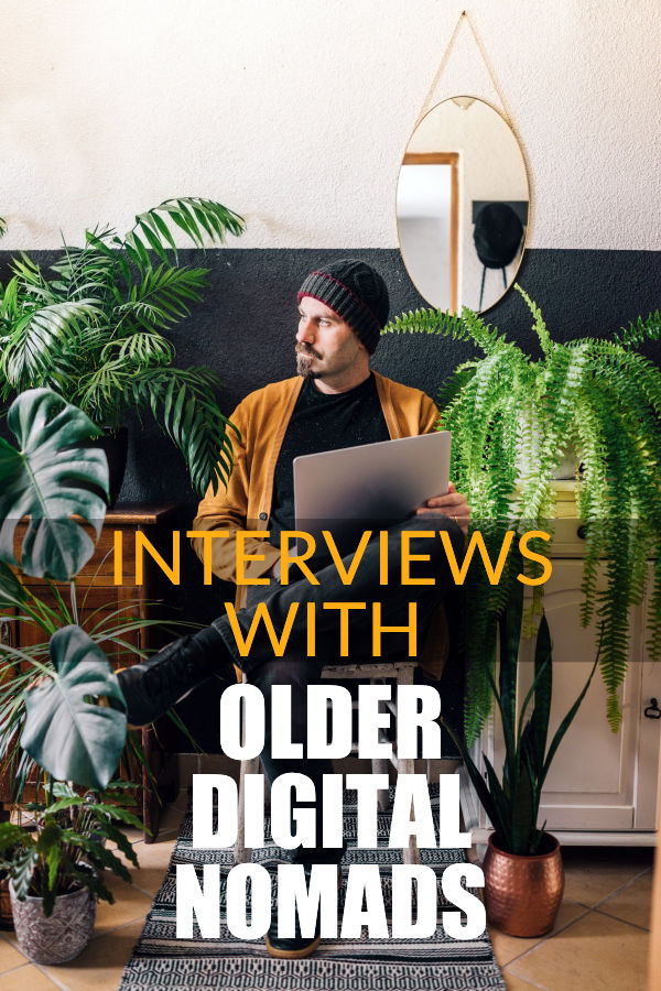 interviews with older digital nomads