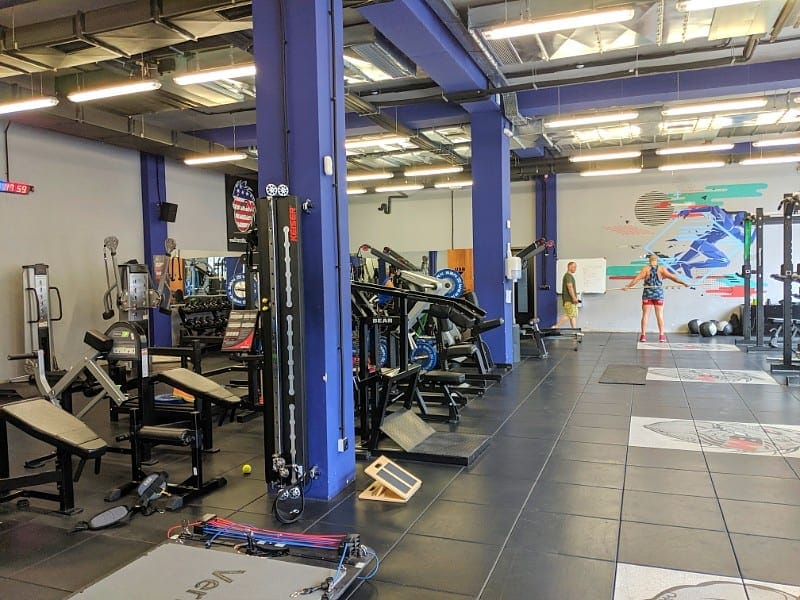 champions academy gym