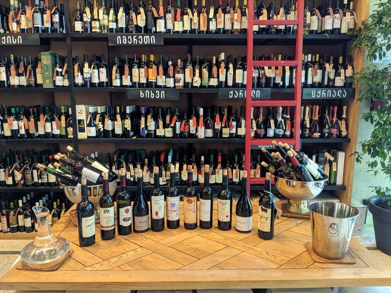 Georgian wines