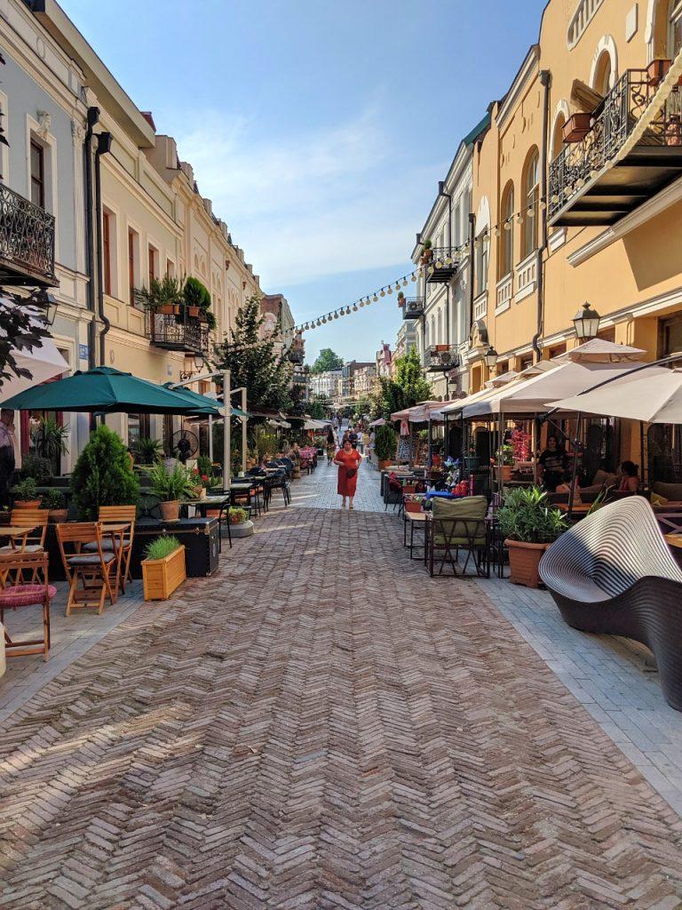 Marjanishvili street bars & cafes