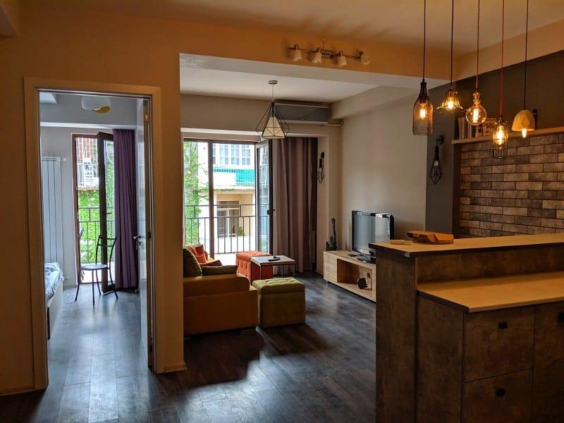 rental apartment in Vake Tbilisi