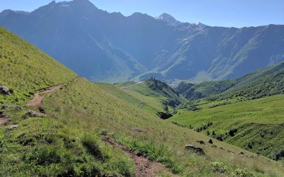Kazbegi Hiking: Stepantsminda to Gergeti Glacier Trek