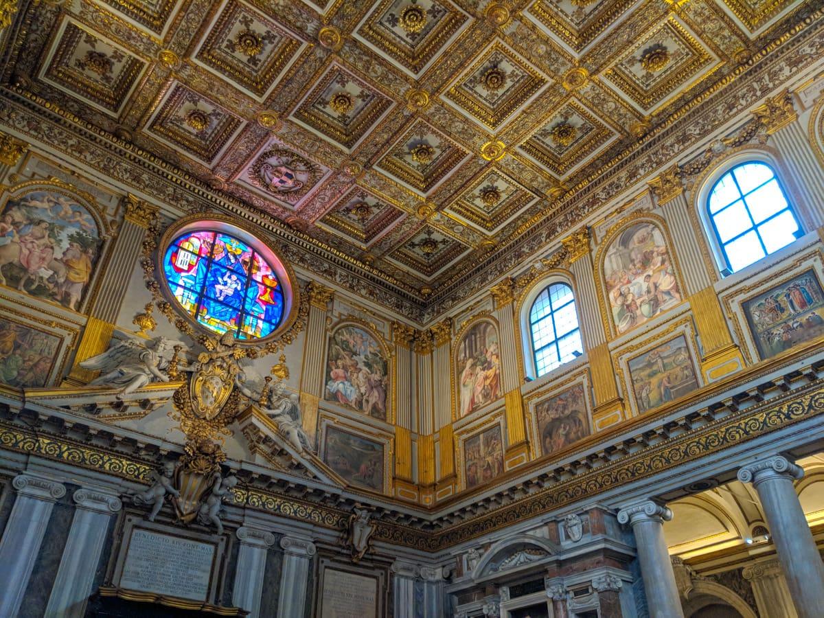 Basilica Papale di Santa Maria Maggiore ceiling