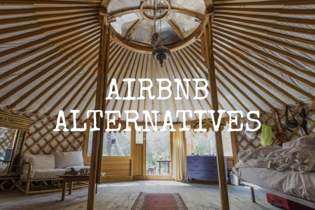 Airbnb Alternatives - Accommodation options