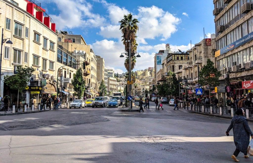 The City Centre of Amman