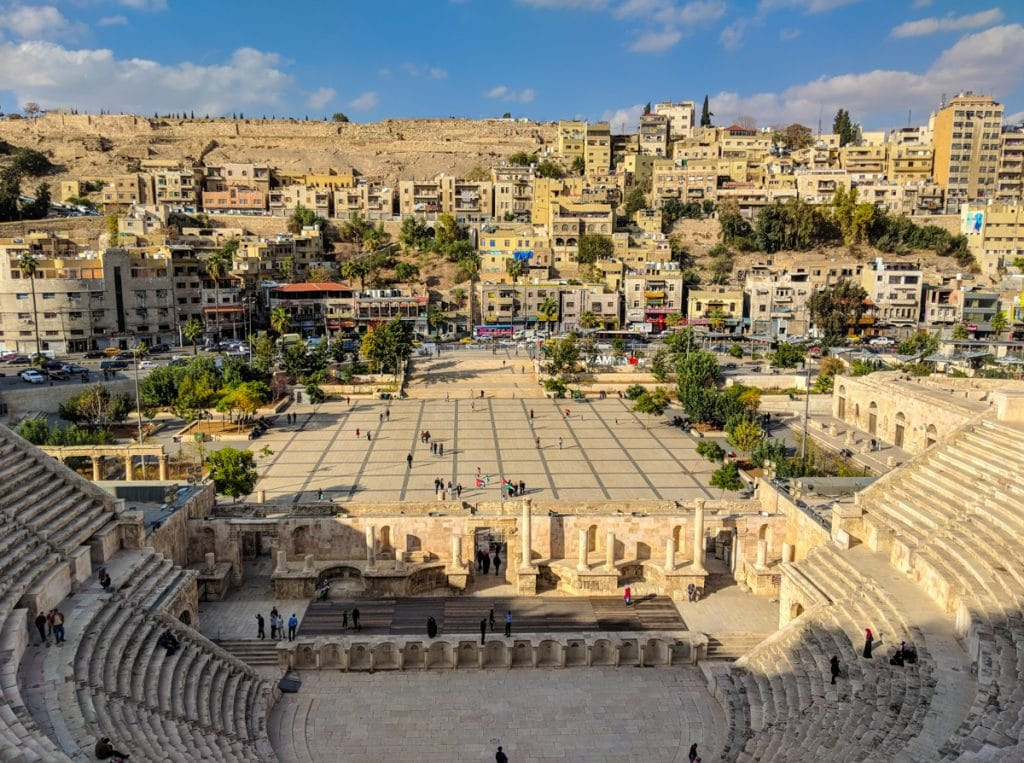 The Roman Amphitheatre in Amman