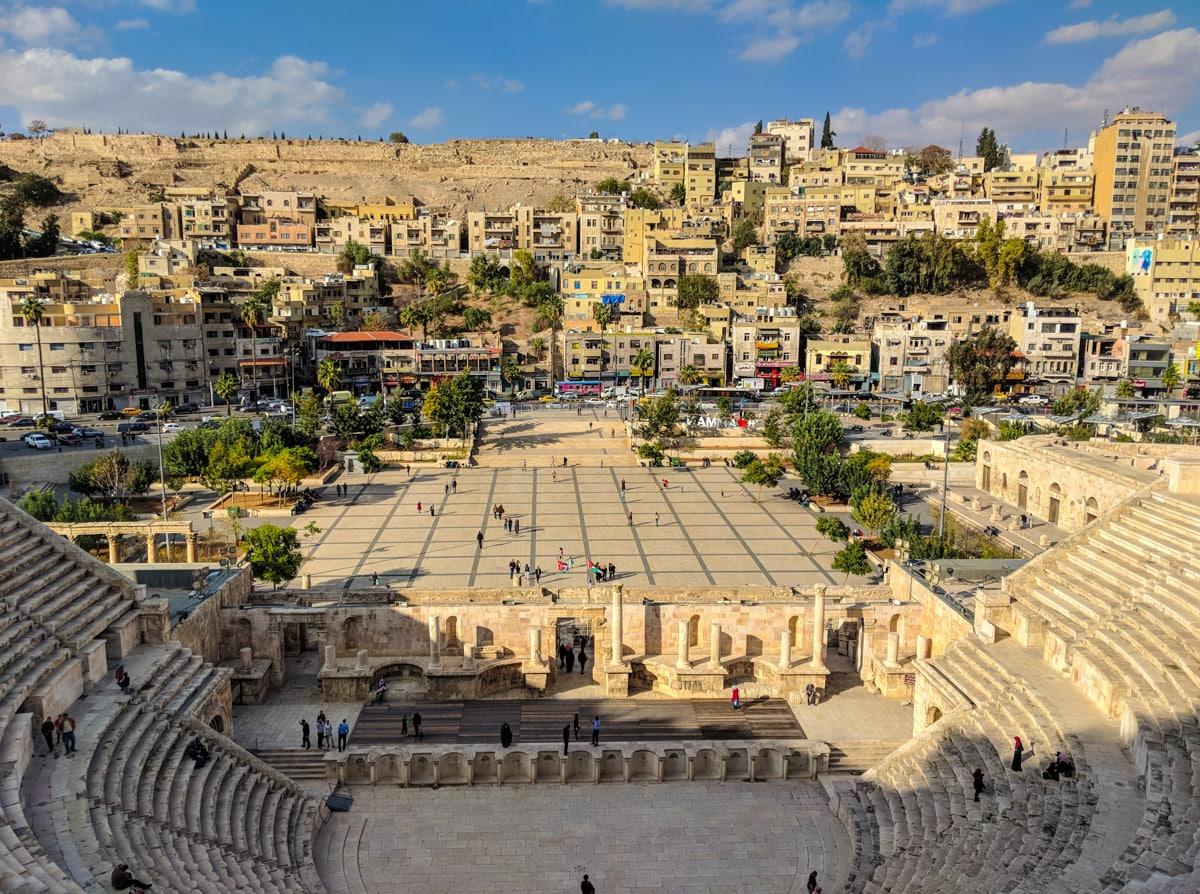 The Roman Amphitheatre in Amman
