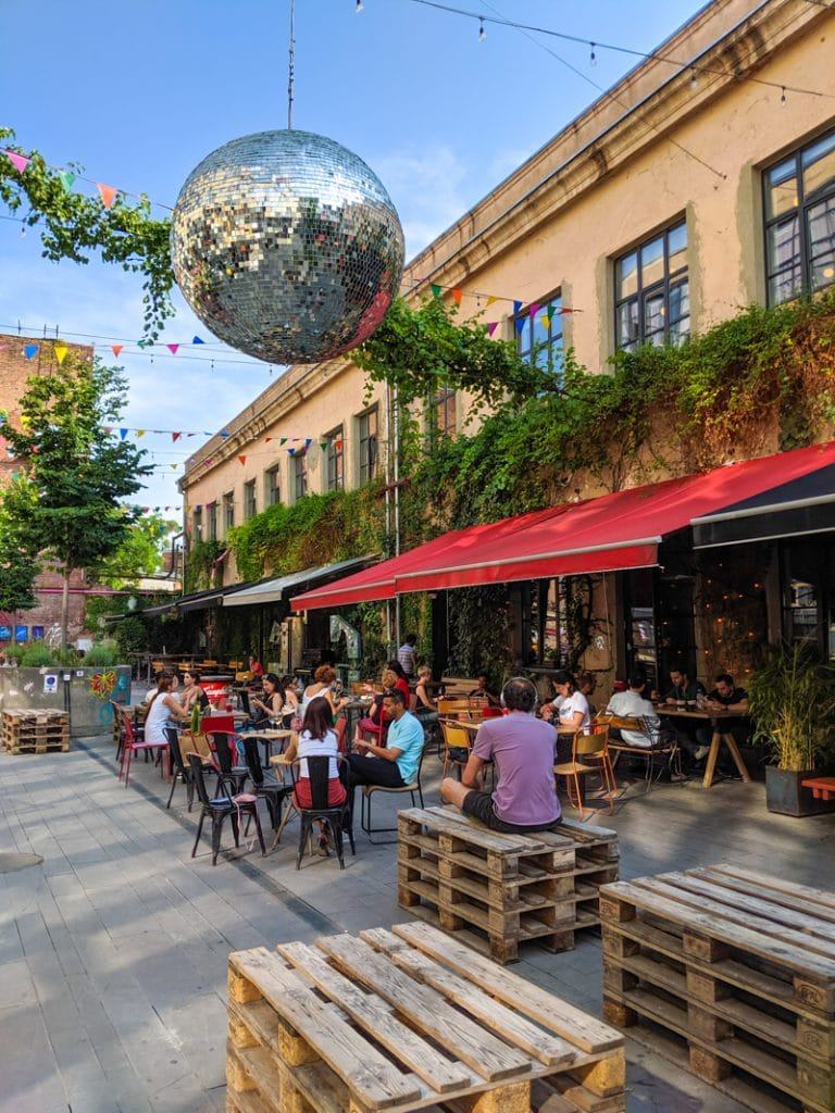 Tbilisi's Hipster Enclave near Fabrika Hostel