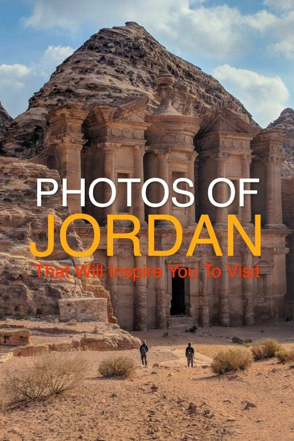 Photo of the cathedral of Petra in Jordan