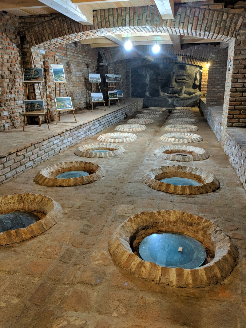 Qvevri wine in Kakheti