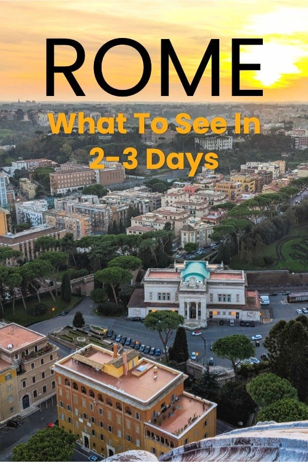 Rome Travel Blog For Solo Travellers