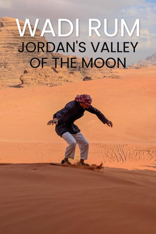 Visit Wadi Rum, Jordan's Desert Valley Of The Moon