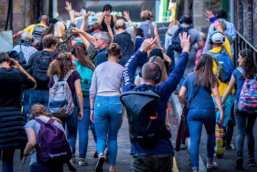 Dublin Silent Disco Tour