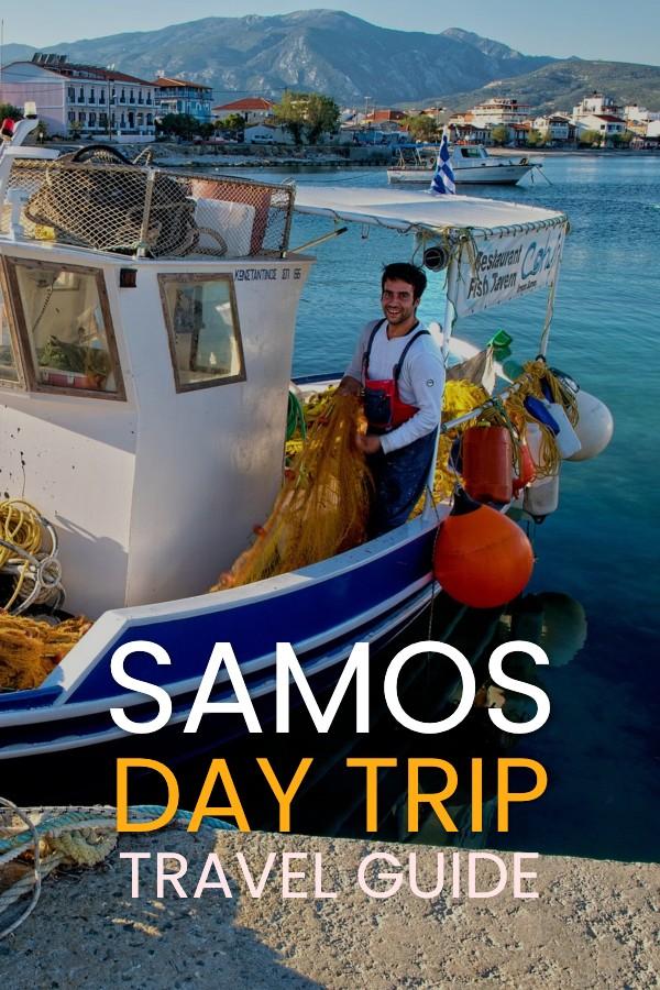 Samos Day Trip guide from Kusadasi