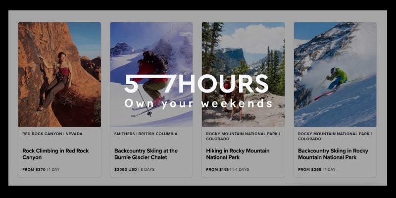 57 hours Black Friday adventure tour deal 2019