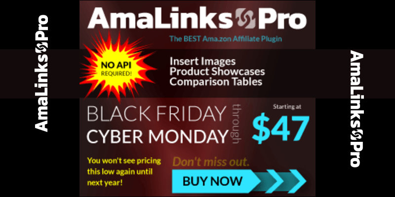 AmaLinks Pro for Amazon Affiliate Bloggers