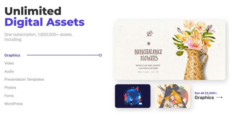 Envato Elements creative assets
