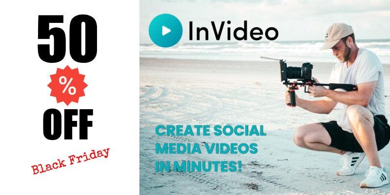 InVideo: create social media videos