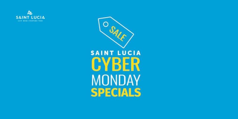Saint Lucia travel Cyber Monday deals