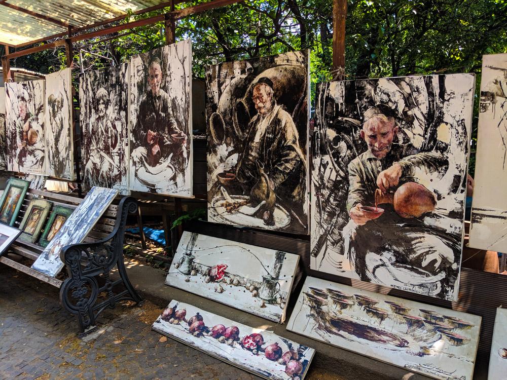Art at the Dry Bridge Market