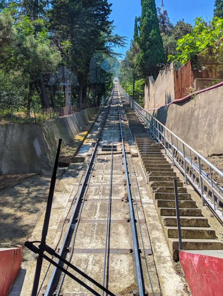 Funicular up to Mtatsminda Park