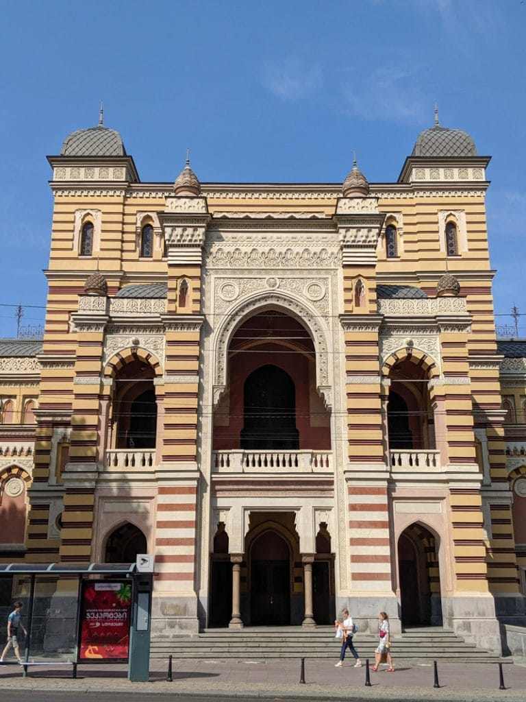 Opera and ballet theatre of Tbilisi
