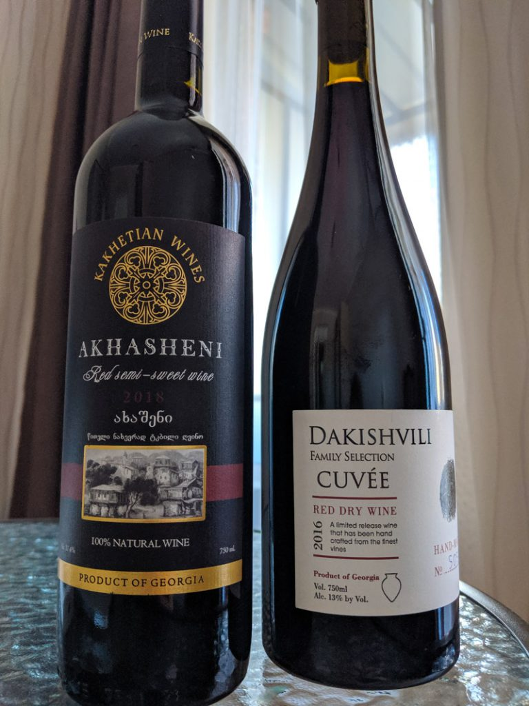 akhasheni and dakishvili bottles