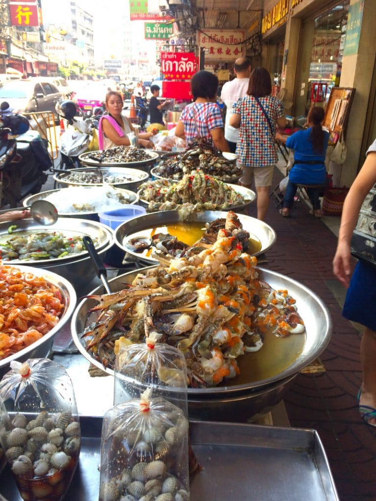 bangkok's street food in Chinatown