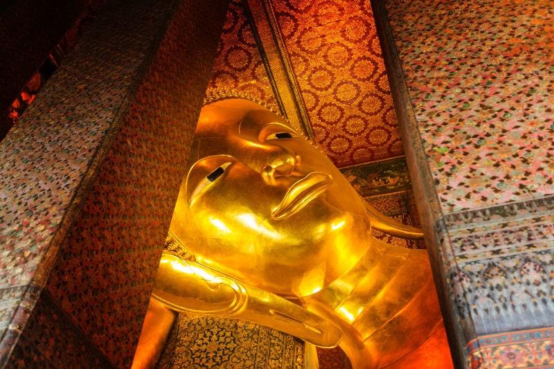 Wat Pho temple, Reclining Buddha