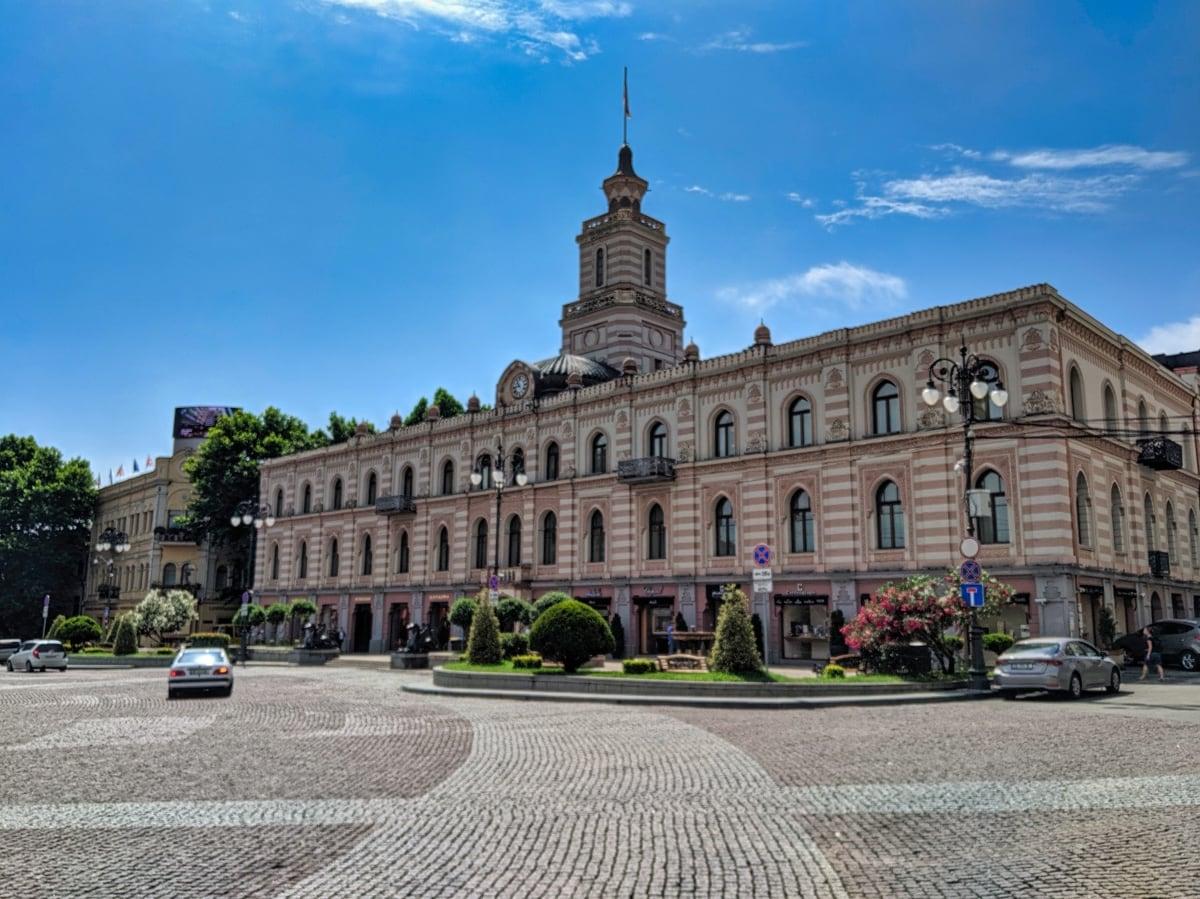 Freedom Square Tbilisi