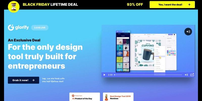 Glorify App Black Friday Lifetime Deal 90 Off