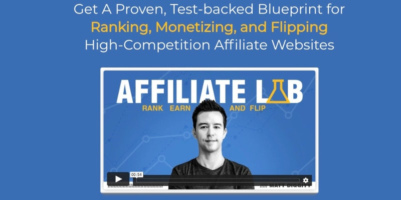 The Affiliate Lab Diggity Marketing Black Friday 50% Discount