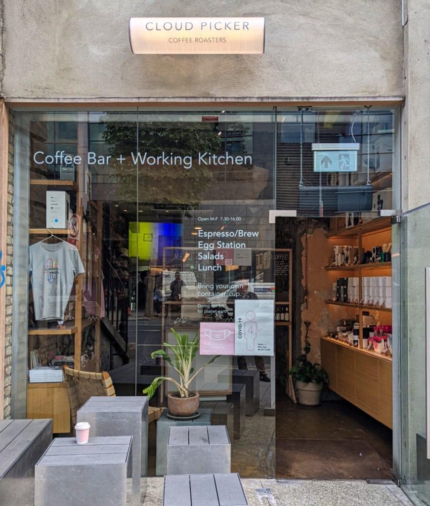 cloud picker coffee roasters dublin coffee shop